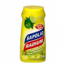 SAPÓLIO RADIUM EM PÓ LIMAO 300G