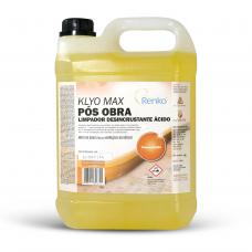 LIMPADOR DESINCRUSTANTE KLYO MAX POS OBRA 5LT