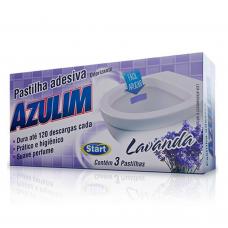 PASTILHA ADESIVA SANITÁRIA LAVANDA COM 3
