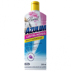 LUSTRA MOVEIS AZULIM FLORAL 200ML