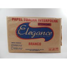 PAPEL TOAL 750 FOLHAS BRANCO ELEGANCE 23X21CM