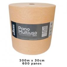 PANO MULTIUSO SLIM LARANJA 300MT C/600 PANOS