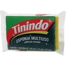 ESPONJA DUPLA FACE MULTIUSO 100X71 TININDO