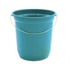 BALDE PLASTICO 20LT CANELADO COLOR