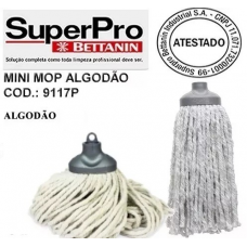 REFIL MOP ESFREGRÃO ALGODÃO SUPERPRO