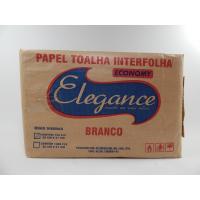 PAPEL TOALHA 750 FOLHAS ECONOMY ELEGANCE BRANCO 20X21CM