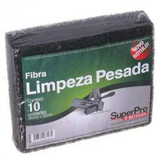 ESPONJA FIBRA LIMPEZA PESADA 102X260MM