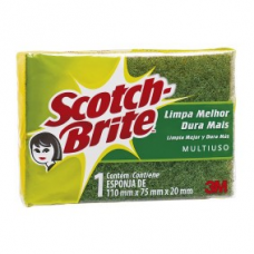 ESPONJA DUPLA FACE SCOTCH-BRITE 3M