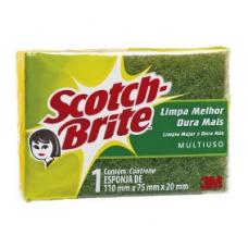 ESPONJA DUPLA FACE SCOTCH-BRITE 3M