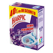 PEDRA SANITÁRIA HARPIC PLUS LAVAND 25G