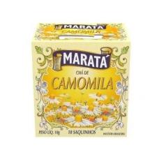 CHÁ DE CAMOMILA MARATA CAIXA 10 UNIDADES