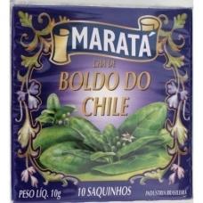 CHÁ DE BOLDO MARATA CAIXA 10 UNIDADES