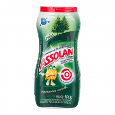 SAPÓLIO ASSOLAN PÓ PINHO 300G