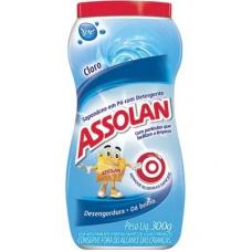 SAPÓLIO ASSOLAN PÓ CLORO 300G