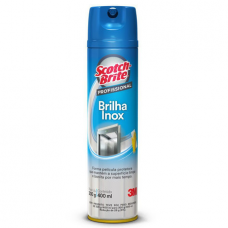 BRILHA INOX 300GR SCOTCH BRITE