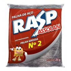 PALHA DE AÇO RASP GROSSA Nº 2