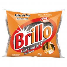 PALHA DE ACO Nº 2 BRILLO 25G