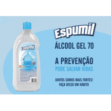 ALCOOL GEL 70 ANTI-SEPT 1 LT ESPUMIL