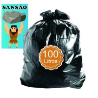SACO P/LIXO PRETO 100LT REF. 7 MC SANSÃO 2,5KG