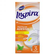 PASTILHA ADESIVA SANITÁRIA FRESH COM 3