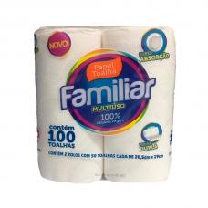 TOALHA 50FLS PCT C/2 FAMILIAR